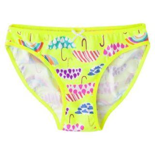 Xhilaration Girls Bikini Briefs   Yellow 12