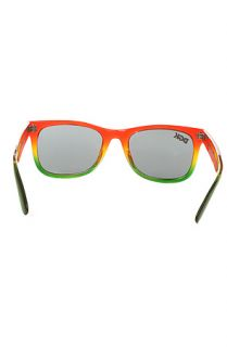 DGK Shades Classic in Clear Rasta Fade