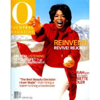 O   Oprah Magazine   January 2001   Oprah Goes Heart to Heart with Bette Midler (Volume 2 Number 1) Amy Gross Books