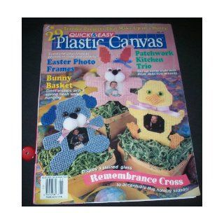 Quick & Easy Plastic Canvas April/May 1997 (Number 47): Janet Tipton: Books