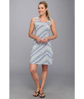 Royal Robbins Essential Tencel Stripe Dress Womens Dress (Blue)