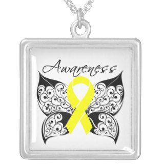 Testicular Cancer Awareness Tattoo Butterfly Jewelry