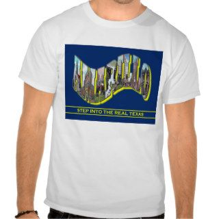 Amarillo, TX Vintage Scenic Letters T Shirt