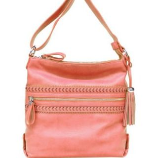 Jessica Simpson Sophia Cross Body Bag,Coral,One Size Shoes