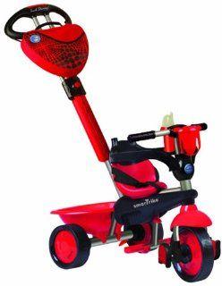 Kinderdreirad Smart Trike Dream Touch Steering   rot/schwarz Spielzeug