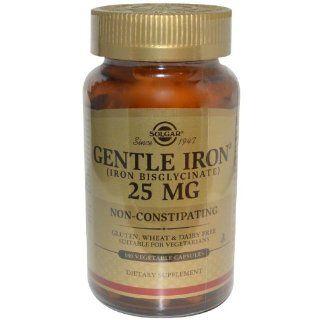 Gentle Iron 20mg (Eisen Bisglycinat) 180 veg. Kaps. (vegan) SO: Lebensmittel & Getränke