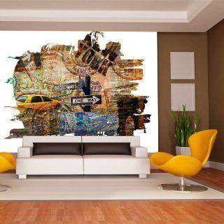 Vlies Tapete  Top  Fototapete  Wandbilder XXL  250x193 cm  New York  10040904 57 Küche & Haushalt