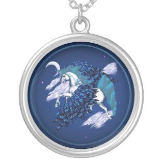 Winged Unicorn  Necklace