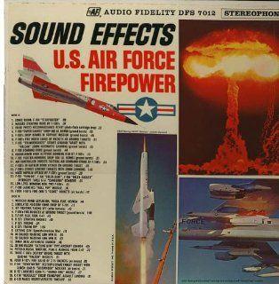 Sound Effects U. S. Air Force Firepower Music