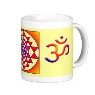 Sri Yantra/Cosmic Om Coffee Mug