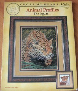 Animal Profiles the Jaguar CSB 109 ((A Counted Cross Stitch Pattern Craft Book)): Books