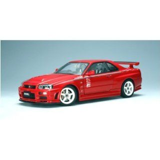 Nissan Skyline GT R (R34) Nismo R Tune (Red) (Diecast Model) Toys & Games