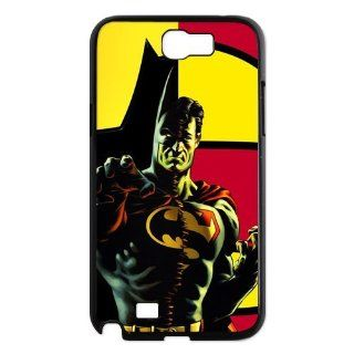 The Unique cool Classical Superman logo Stylish Portrait Custom Fashion Snap on hard case Samsung Galaxy Note 2 N7100 ultrathin Waterproof Premium Quality by Distinctive Design Studio: Electronics