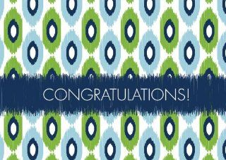Modern Ikat Congratulations   Congratulations Cards : Greeting Cards : Office Products