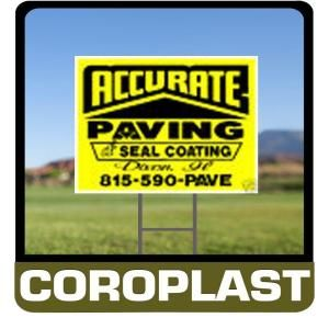 Lynch Sign 24 in. x 24 in. Custom Coroplast Sign C2424A