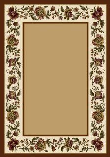 "Signature Penelope Transitional Border Light Topaz 3'10"" x 5'4"" O   Wallpaper Borders"