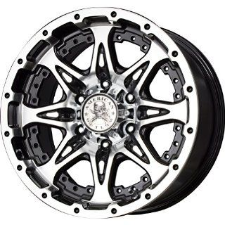 """American Outlaw Buckshot Series Black Wheel with Machined Face (20x9""""/8x165.1mm) Automotive"""