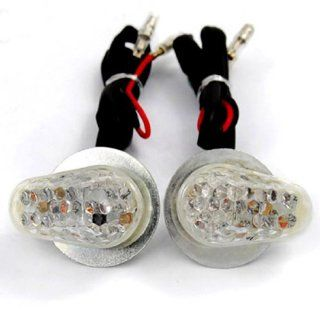 No Cutting No Drilling Clear Flush Mount Turn Signals For Suzuki DR DRZ 200 250 350 350 400 650 DR200 GT380 GT500 GT550 GT 125 185 380 500 550 Katana GSXR 600 750 1000 1100 Hayabusa: Automotive