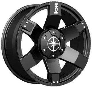 20 Inch 20x9 Ion Alloy wheels STYLE 185 Black wheels rims: Automotive