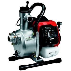 Koshin 1 in. 0.8 HP Centrifugal Pump with 2 Stroke Mitsubishi Engine SEM 25E