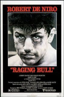 Raging Bull 1980 Original Movie Poster Biography Drama Sports: Cathy Moriarty, Joe Pesci, Robert De Niro: Entertainment Collectibles