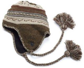 Isotoner Men's Acrylic Fairisle Knit Trapper Hat, Black, One Size at  Men�s Clothing store: Skull Caps