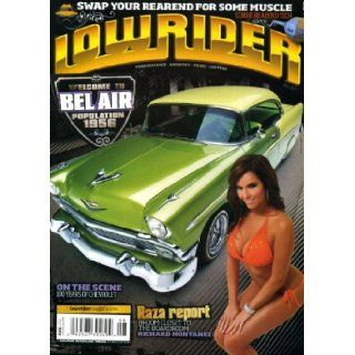 Lowrider August 2011 Candy Ace on Cover (also a 1956 Chevy Bel Air), 100 Years of Chevrolet, 1971 Monte Carlo, 1964 Impala Station Wagon, 1957 Chevy Convertible, 1951 Chevy Deluxe Truck: Lowrider Magazine: Books