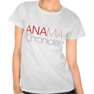 Pro Ana Mia Chronicles Tshirt