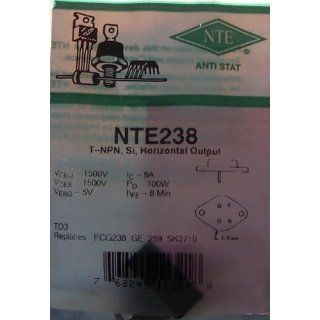 NTE 238 NPN Transistor: Industrial & Scientific