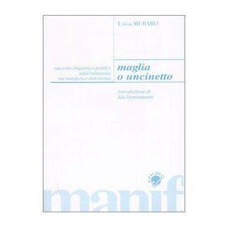 Maglia o uncinetto. Racconto linguistico politico sulla inimicizia tra metafora e metonomia: Luisa Muraro: 9788872853641: Books