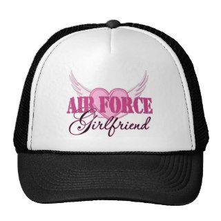 Air Force Girlfriend Wings Mesh Hat