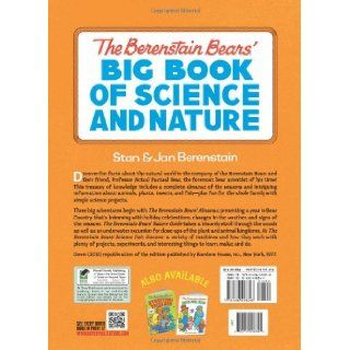The Berenstain Bears' Big Book of Science and Nature (Dover Children's Science Books) Stan Berenstain, Jan Berenstain 9780486498348 Books