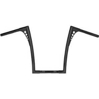 RSD 1 1/4in. Handlebars   King Ape Hanger Bend   Black Powder Coat , Color: Black, Handle Bar Size: 1 1/4in. 0173 1853 BP: Automotive