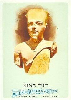 King Tut trading card (Egyptian Pharaoh) 2010 Topps Allen & Ginters Champions #271: Entertainment Collectibles