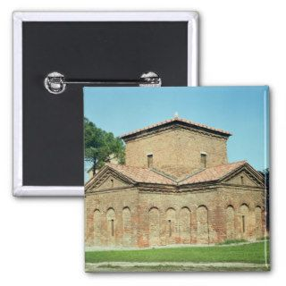 Tomb of Galla Placidia, c.450 Pinback Buttons