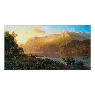 Emerald Lake near Tahoe, Thomas Hill Print