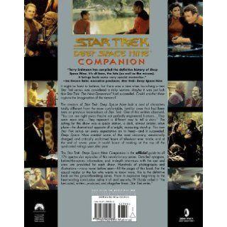 Deep Space Nine Companion (Star Trek Deep Space Nine) Terry J. Erdmann, Paula M. Block 9780671501068 Books