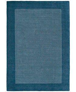 Hand tufted Royal Blue Wool Rug (8' x 10'6) 7x9   10x14 Rugs