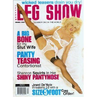 LEG SHOW MAGAZINE MARCH 2000 JEWEL DE'NYLE: Books