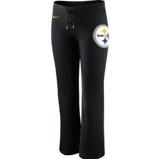 Nike Pittsburgh Steelers Ladies Tailgater Fleece Pants   Black  Sports Fan Apparel  Sports & Outdoors