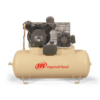 Ingersoll Rand 120 Gallon 15 HP Fully Packaged Type 30 Reciprocating Air Compressor Tools