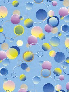 "Decopatch Decoupage Paper Mache ""Blue Bubbles"" 365"