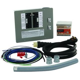 Generac 50 Amp Generator Transfer Switch Kit for 12 16 Circuits for Indoor Applications 6296