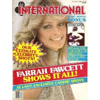 CLUB INTERNATIONAL DECEMBER 1982 FARRAH FAWCETT: Books