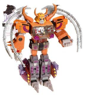 "Transformers Armada UNICRON 15"" Action Figure with DEAD END Mini Con (2003 Hasbro): Toys & Games"