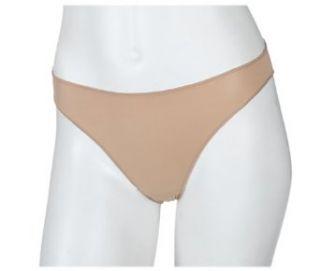 Maidenform Women's No Show Nylon tanga Panty, Nude, 5 at  Women�s Clothing store
