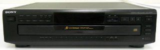 Sony CDP CE405 Compact Disc Player Changer w/ 5 CD Changer Electronics