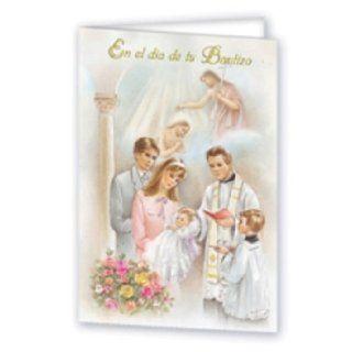En el dia de tu Bautizo Greeting Card (SFI 361S): Books
