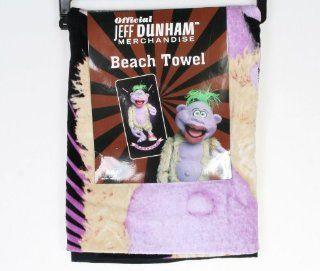 Jeff Dunham Peanut Beach Towel