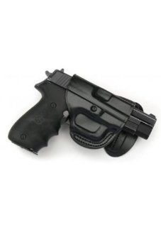 Paddle Holster. BERSA 380. BLACK LEFT HANDED  Gun Holsters  Sports & Outdoors